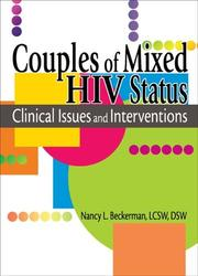 Cover of: Couples of Mixed HIV Status | Nancy L. Beckerman
