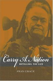 Cover of: Carry A. Nation