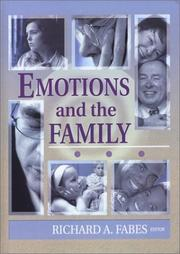 Cover of: Emotions and the Family