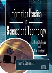 Cover of: Information practice in science and technology |