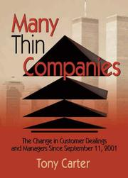 Cover of: Many Thin Companies