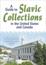 Cover of: A guide to Slavic collections in the United States and Canada |