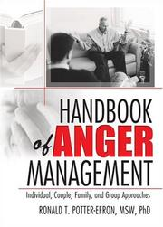 Cover of: Handbook Of Anger Mangement