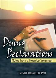 Cover of: Dying Declarations