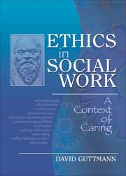 Cover of: Ethics in social work