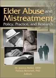Cover of: Elder abuse and mistreatment