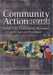 Cover of: Community Action Research | Roger N. Reeb