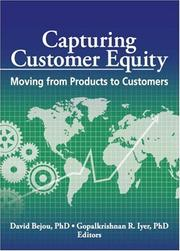 Cover of: Capturing Customer Equity |