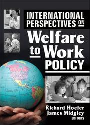 International perspectives on welfare to work policy by