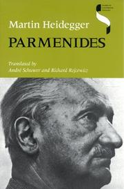 Cover of: Parmenides