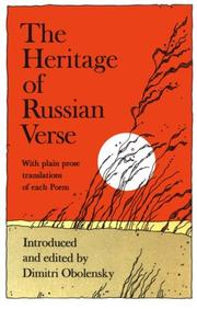 Cover of: The heritage of Russian verse