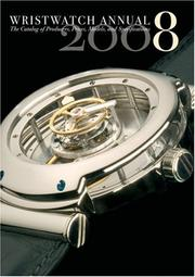 Cover of: Wristwatch Annual 2008 | Peter Braun