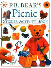 Cover of: P.B. Bear Sticker Activity Book |