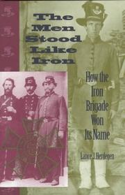 Cover of: The men stood like iron