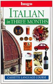 Cover of: Italian in three months