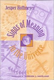 Cover of: Signs of meaning in the universe