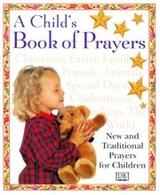 Cover of: A child's book of prayers