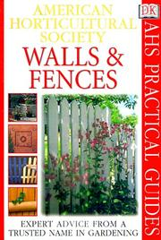 Cover of: Walls and fences
