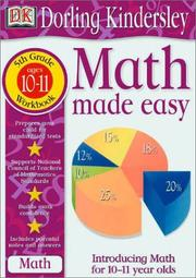 Cover of: Math Made Easy | DK Publishing