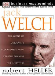 Cover of: Jack Welch (Business Masterminds) | Robert Heller