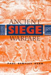 Cover of: Ancient siege warfare | Paul Bentley Kern