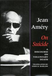 Cover of: On suicide