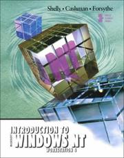 Cover of: Introduction to Windows NT Workstation 4 | Gary B. Shelly