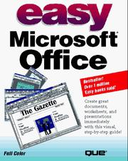 Cover of: Easy Microsoft office
