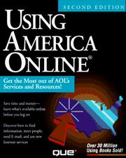 Cover of: Using America Online