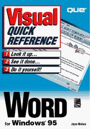 Cover of: Word for Windows 95
