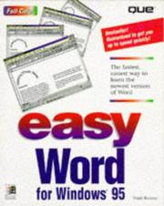 Cover of: Easy Word 7 for Windows 95