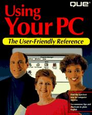 Cover of: Using your PC