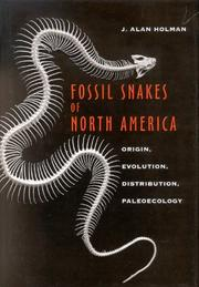 Cover of: Fossil Snakes of North America