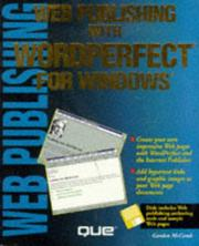 Cover of: Web publishing with WordPerfect for Windows