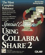 Cover of: Using Collabra Share 2
