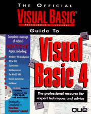 Cover of: The Official Visual Basic Programmer
