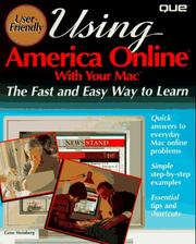 Cover of: Using America Online with your Mac