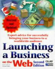 Cover of: Launching a business on the Web | Cook, David