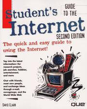 Cover of: Student's guide to the Internet