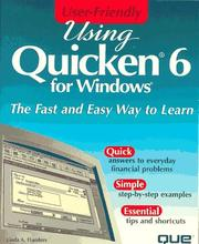 Cover of: Using Quicken 6 for Windows