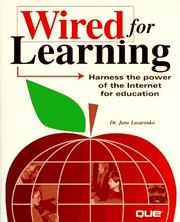 Cover of: Wired for learning