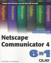 Cover of: Netscape Communicator 4, 6 in 1