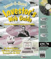 Cover of: Investor's web guide