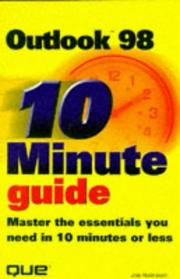 Cover of: 10 minute guide to Microsoft Outlook 98