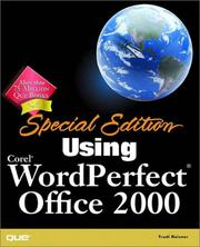 Cover of: Using Corel WordPerfect Office 2000