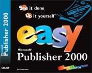 Cover of: Easy Microsoft Publisher 2000