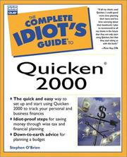 The complete idiots guide to Quicken 2000