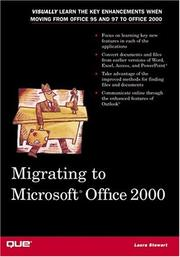 Cover of: Migrating to Microsoft Office 2000