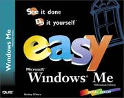 Cover of: Easy Microsoft Windows Millennium (Easy)