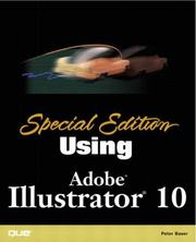 Cover of: Special Edition Using Adobe(R) Illustrator(R) 10